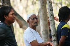Индонезийский мусульманский человек Стоковое Изображение RF