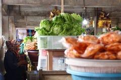 индонезийский рынок Стоковое Фото