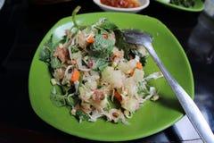 Индонезийский салат Стоковая Фотография