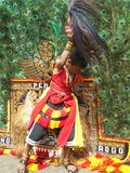 Индонезийский танцор Стоковое Фото