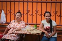 2 индонезийских дамы, Medan, Индонезия Стоковые Фотографии RF
