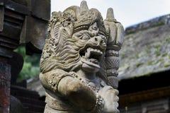 Индонезия - старая индусская архитектура на острове Бали Стоковая Фотография