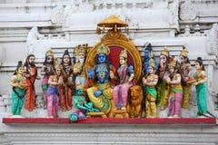 Индусские боги стоковое изображение rf
