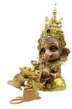 Индусский бог Ganesha и крысы стоковое фото rf