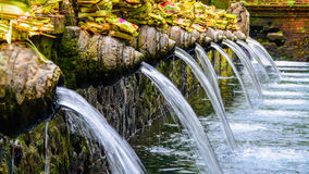 Индусский висок воды Стоковые Фото