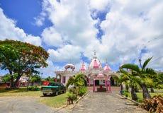 Индусский висок в Порт Луи, Маврикии Стоковое Изображение