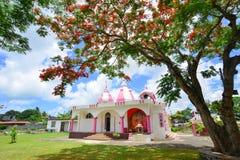Индусский висок в Порт Луи, Маврикии Стоковые Фото