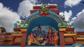 индусский висок Индии Кералы южный традиционный видеоматериал
