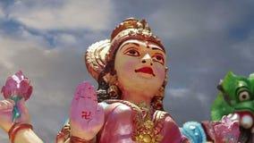 индусский висок Индии Кералы южный традиционный акции видеоматериалы