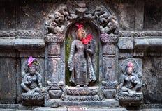индусский висок Непала Стоковая Фотография RF