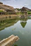Индусский висок, Hampi, положение Karnataka, Индия Стоковое Фото