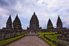 Индусский висок Prambanan. Индонезия Стоковое Изображение