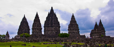 Индусский висок Prambanan. Индонезия стоковое фото rf