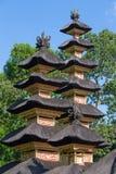 Индусский висок, Ubud, Бали, Индонезия Стоковая Фотография RF