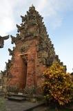 Индусский вход церков в Бали Стоковые Изображения RF