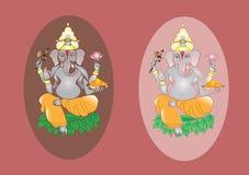 Индусский лорд Ganesh Стоковые Фото