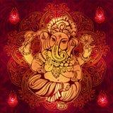 Индусский лорд Ganesha Стоковое фото RF