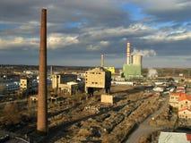 индустриальная зона Стоковые Фото