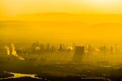 Индустриальная зона в Хайфе Стоковое фото RF