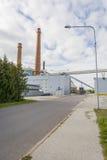 Индустриальная зона в Tartu, Эстонии Стоковая Фотография RF