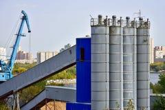 Индустриальная зона, Москва Стоковое Изображение RF