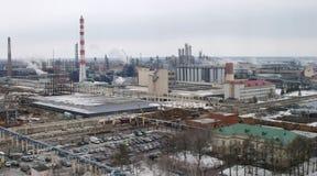 Индустриальная зона Стоковое фото RF