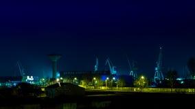 Индустриальная зона Galati Стоковое фото RF