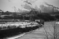 Индустрия воды грея Стоковая Фотография