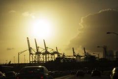 Индустрия и загрязнение Стоковое Изображение RF