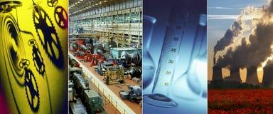 Индустрия - наука - технология Стоковая Фотография