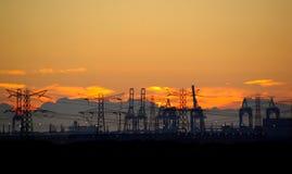 Индустрия на горизонте Стоковое Изображение RF