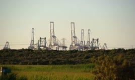 Индустрия на горизонте Стоковое фото RF