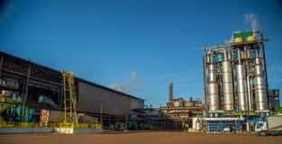 Индустрия сахарного тростника фабрики Стоковые Фото