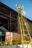 Индустрия сахарного тростника фабрики Стоковое Изображение