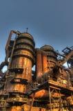 Индустрия для изготовлять чугуна, Остравы, чехии Стоковое Изображение RF