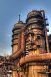 Индустрия для изготовлять чугуна, Остравы, чехии Стоковая Фотография RF
