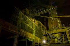 Индустрия для изготовлять чугуна, Остравы, чехии Стоковое Фото