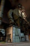 Индустрия для изготовлять чугуна, Остравы, чехии Стоковая Фотография