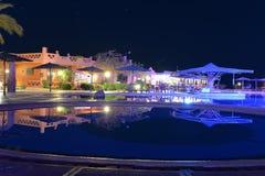 индюк бассеина ночи icmeler гостиницы Стоковое фото RF