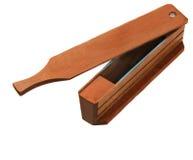 индюк звонока коробки деревянный Стоковые Фото