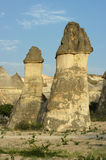 индюк утеса pasabagi образования cappadocia Стоковое фото RF