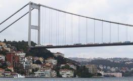 индюк istanbul моста bosphorus стоковое изображение rf