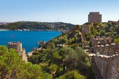индюк rumeli istanbul крепости стоковое изображение rf