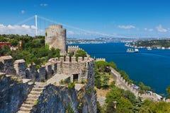 индюк rumeli istanbul крепости Стоковое Фото