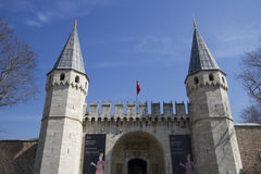 индюк topkapi дворца istanbul строба Стоковое Фото