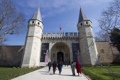 индюк topkapi дворца istanbul Стоковая Фотография