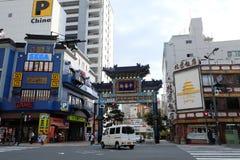 Иокогама Чайна-таун, Япония Стоковые Изображения RF