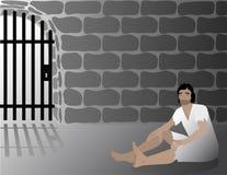 Иосиф в иллюстрации тюрьмы библейской Стоковая Фотография