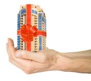 ипотека дома руки Стоковое фото RF