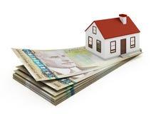 Ипотека дома Канады Стоковое фото RF
